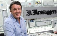 Renzi al videoforum del Messaggero