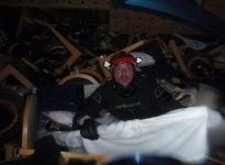 Sub all'interno della Concordia
