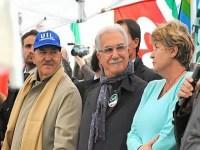 Cgil, Cisl e Uil scioperano contro la legge di stabilità