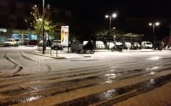 Toscana: neve non solo in montagna, fiocchi a Pietrasanta