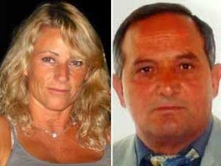 Francesca Benetti, la vittima, e Antonino Bilella, il presunto omicida