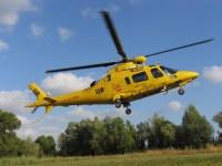 Il cacciatore è stato trasferito con l'elicottero Pegaso all'ospedale di Pisa