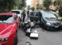 Incidente in zona Fabbricotti a Livorno