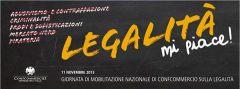 Oggi l'iniziativa Legalita mi piace di Confcommercio