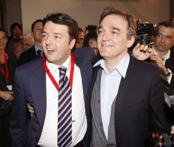 Matteo Renzi ed Enrico Rossi