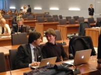 Raffaele Sollecito in aula a Firenze