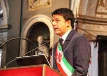 Renzi all'inaugurazione dell'anno accademico in Palazzo Vecchio