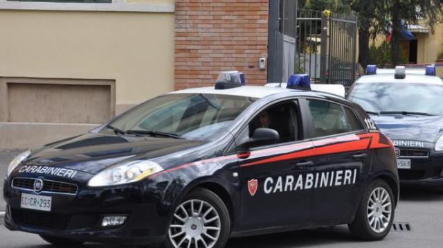 Sono intervenuti anche i carabinieri