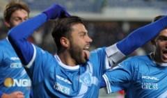 Tavano (Empoli) ha segnato il 14esimo gol stagionale