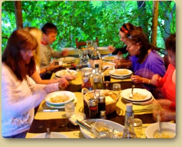 Toscani a tavola, soprattutto la sera