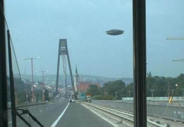 Uno dei tanti avvistamenti di extraterrestri