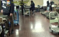 Controlli delle forze dell'ordine nei capannoni-alveare del fiorentino (Video)