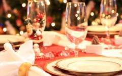 Natale, il 25% delle spese è per la tavola