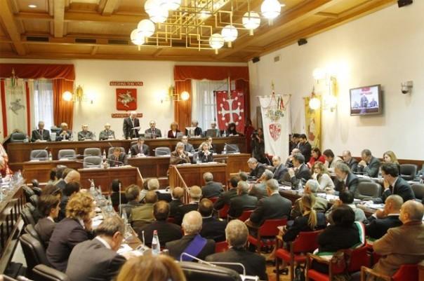 L' aula del Consiglio regionale della Toscana