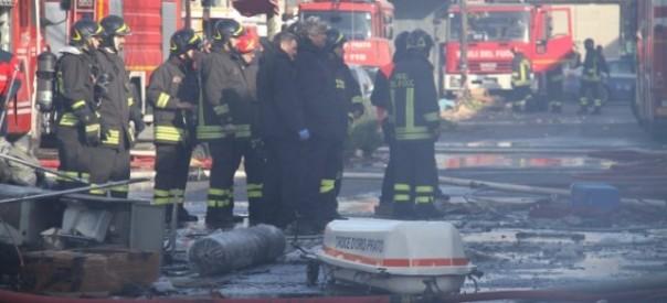 I soccorritori non hanno potuto far altro che constatare la tragedia