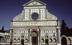 Il complesso di Santa Maria Novella racchiuso in un tablet