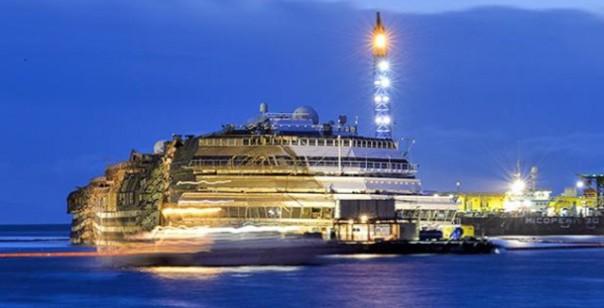 La Costa Concordia al Giglio