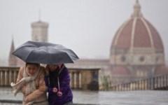 Natale con pioggia in Toscana
