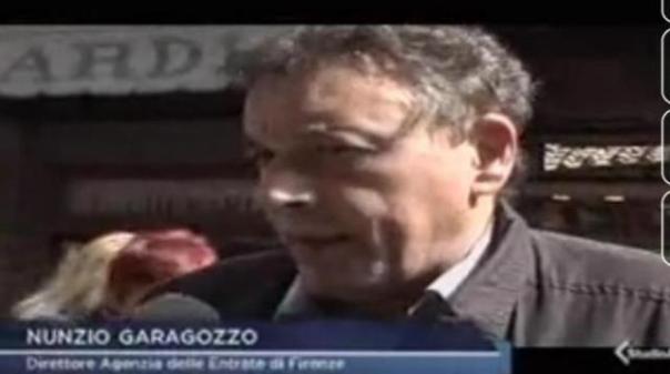 Nunzio Garagozzo, ex direttore delle Entrate di Firenze