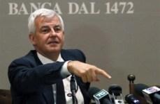 Profumo è chiaro, senza aumento di capitale Siena saluterebbe l'Mps