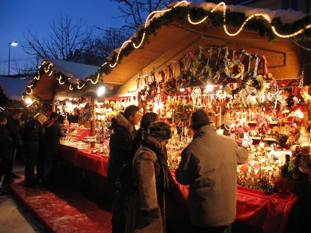 Uno dei tanti mercatini natalizi toscani