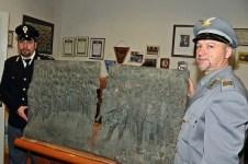 Il bassorilievo di Mussolini ritrovato a Calenzano