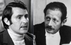 Il commissario Luigi Calabresi e il giudice Mario Sossi