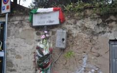 Largo delle Foibe a Firenze