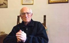 Firenze, monsignor Livi: «Vi racconto i miei cent'anni: un volo...» (Video)