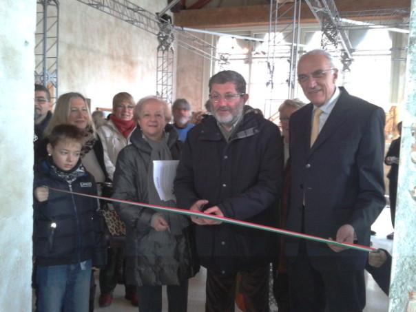 L'inaugurazione di FioGen Arte Lucca