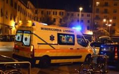 Livorno, si evira e getta il pene oltre un muro