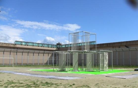 Il cortile del carcere di San Gimignano dove si svolgerà lo spettacolo