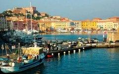 Isola d'Elba, collisione fra navi da crociera: paura a Portoferraio