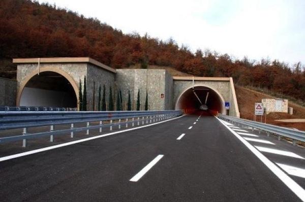 Un tratto della Due Mari fra Siena e Grosseto