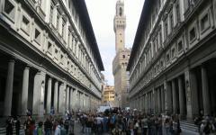Firenze, Galleria degli Uffizi: è il museo più densamente visitato del mondo