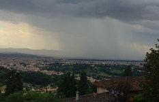 Pioggia e temporali in arrivo