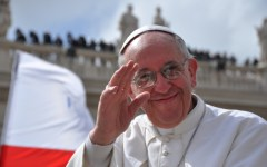 Da Papa Francesco i volontari delle misericordie toscane
