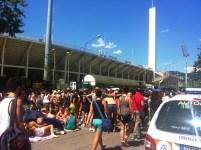 Concerto di Ligabue allo stadio, i fan in attesa