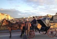 Firenze, riprese del film Il Giovane favoloso
