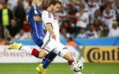 Germania-Argentina, Mario Goetze, autore del gol per i tedeschi