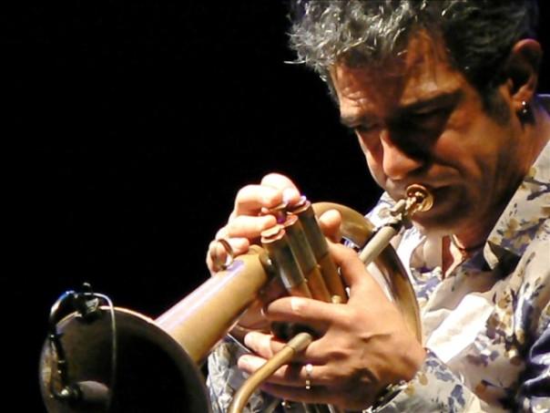 Il trombettista jazz Paolo Fresu