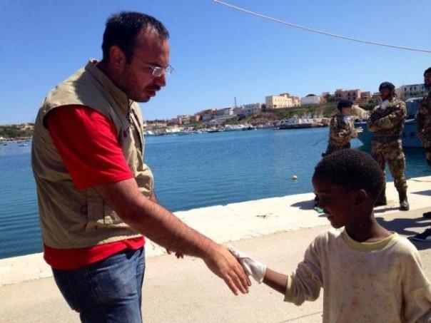 Migranti a Lampedusa,