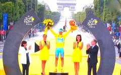 Tour de France, Nibali vittoria epica: piange durante l'inno di Mameli. E i francesi ...
