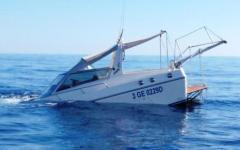 Isola di Montecristo, affonda uno yacht: salvi per miracolo due coniugi