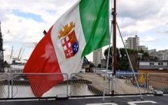 Parla il comandante del Durand de la Penne: «Così portiamo il Tricolore nel mondo»
