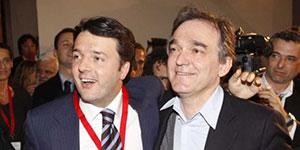 Matteo Renzi e Enrico Rossi: il governatore si candida alla segreteria del Pd contro il premier