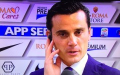 Montella: «Gara di alto livello ma non guardiamo la classifica»