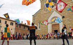 Montepulciano: presentato il Panno del Bravìo delle Botti del 28 agosto 2016