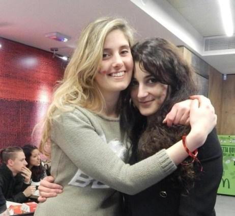 Greta Ramelli e Vanessa Marzullo