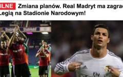 Fiorentina, clamoroso: con il Real Madrid, a Varsavia, giocherà il Legia invece dei viola?